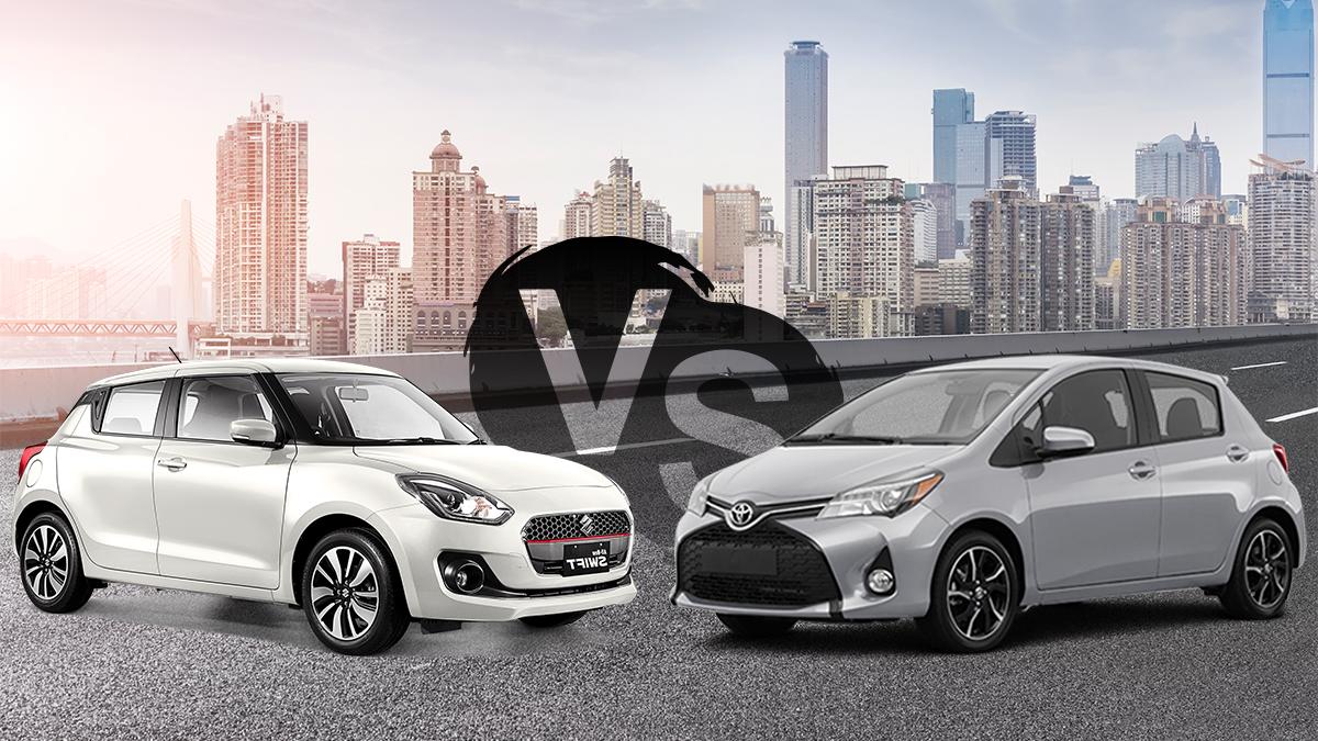 Suzuki Swift VS Toyota Vitz